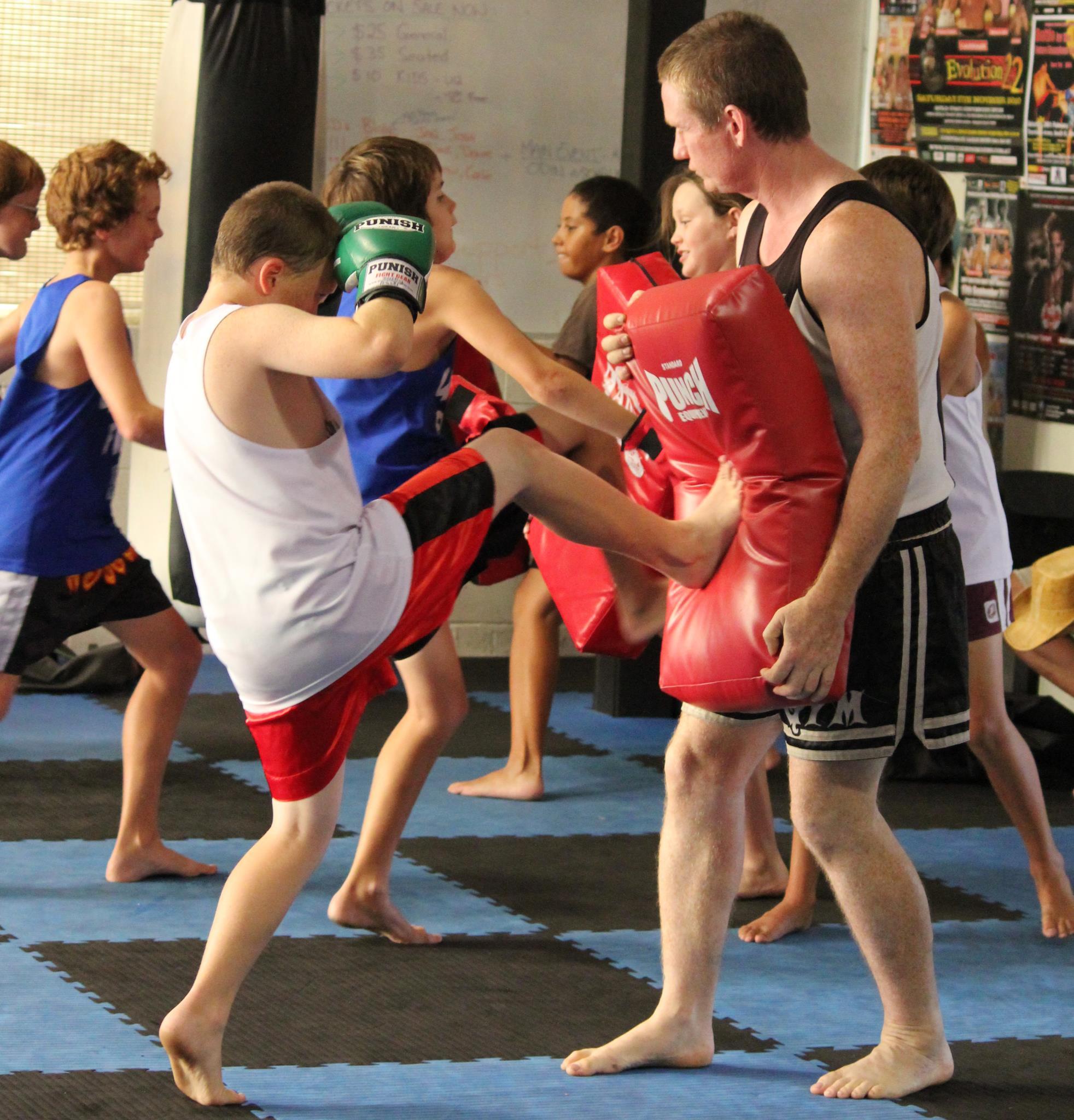 Kids & Teenage Muaythai Term 3 Starts back